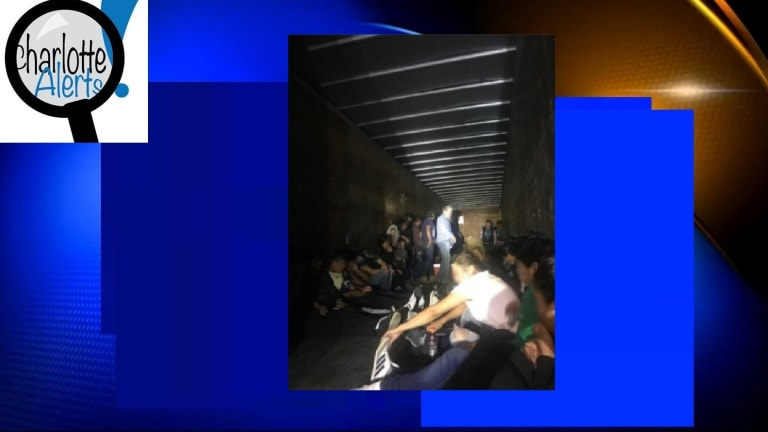 66 PEOPLE FOUND IN TRACTOR TRAILER IN SMUGGLING ATTEMPT