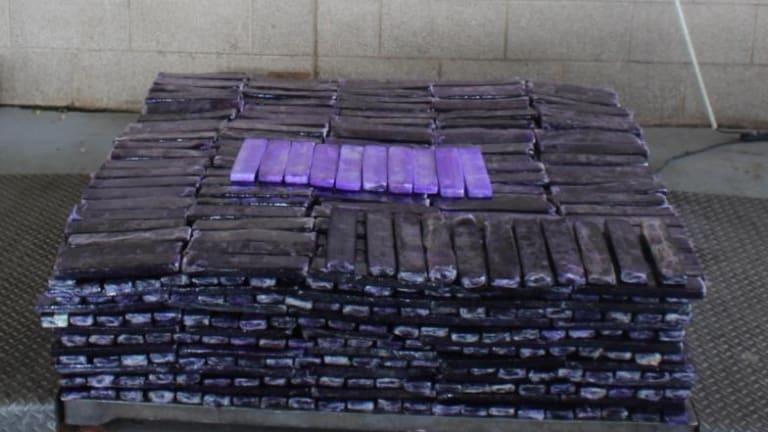 $16 MILLION WORTH OF METHAMPHETAMINE FOUND IN TEXAS