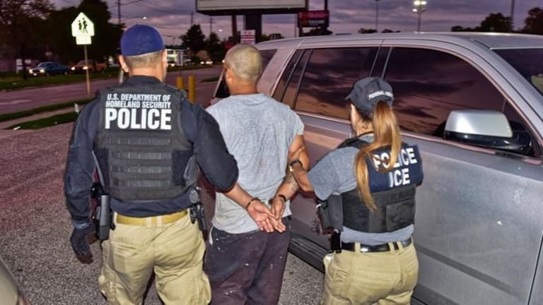 ICE ARRESTS UNDOCUMENTED IMMIGRANT THAT THREATENED TO SHOOT ICE AGENTS