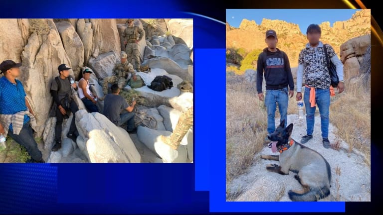 SEVERAL RESCUED FROM MOUNTAINS DURING SMUGGLING ATTEMPT INTO UNITED STATES