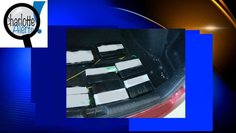 OVER $500,000 IN METHAMPHETAMINE, OXYCONTIN, AND FENTANYL FOUND IN CAR