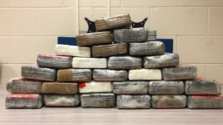 COCAINE WORTH $500,000 SEIZED IN TEXAS ON INTERNATIONAL TRACTOR TRAILER