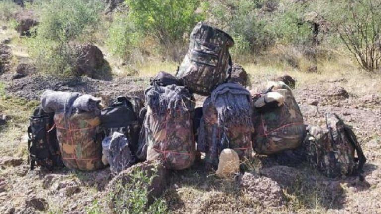 $170,000 WORTH OF METHAMPHETAMINE FOUND IN BACK PACKS WITHIN ARIZONA MOUNTAINS