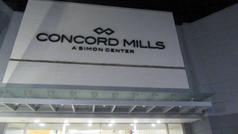"""SHOOTING AT CONCORD MILLS MALL DURING THE """"US"""" MOVIE"""