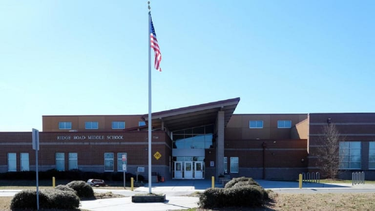 RIDGE ROAD MIDDLE SCHOOL PLACED ON LOCK DOWN