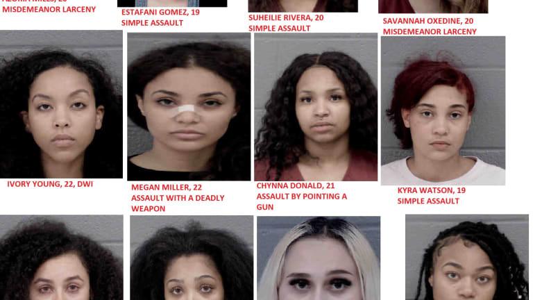 CUTE GIRLS THAT LANDED IN JAIL DURING THE CORONAVIRUS PANDEMIC