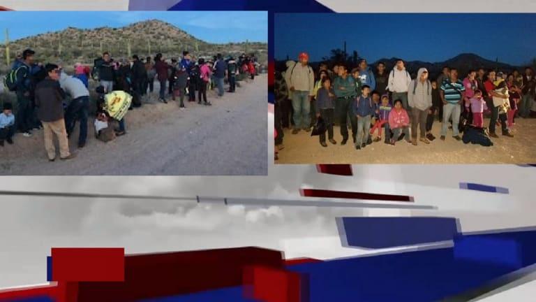 LARGE GROUP OF LATINO CARAVAN MEMBERS ARRESTED IN ARIZONA