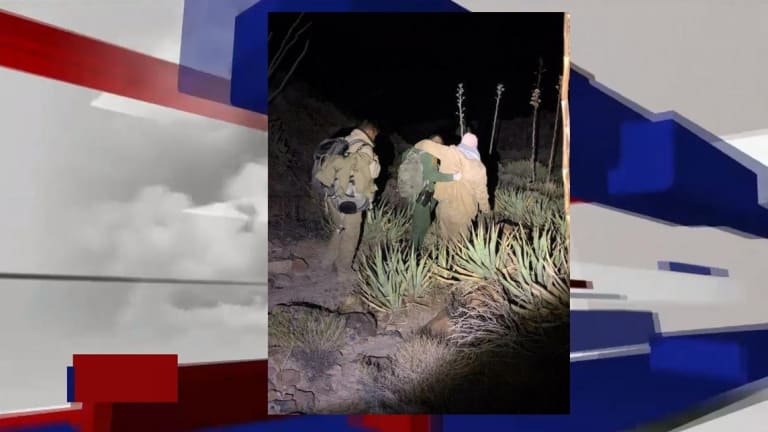 3 ILLEGAL IMMIGRANTS RESCUED IN MOUNTAINS WHILE SNEAKING IN UNITED STATES