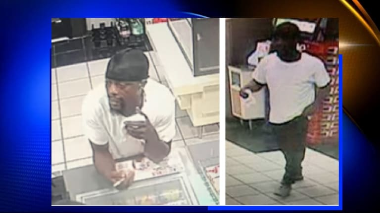 MAN ROBS 7-ELEVEN CONVENIENCE STORE AND FLEES WITH CASH