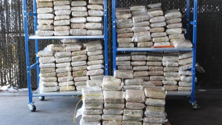 $240,000 IN MARIJUANA INTERCEPTED AT UNITED STATES PORT OF ENTRY