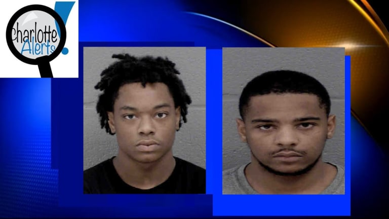TWO TEENS ARRESTED AFTER ALLEGED ROBBERY SPREE