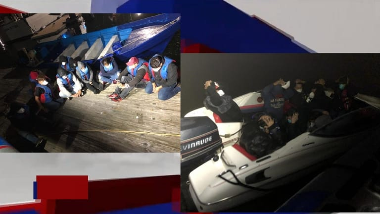 TWO BOAT LOADS OF UNDOCUMENTED IMMIGRANTS ATTEMPT TO ENTER USA VIA OCEAN