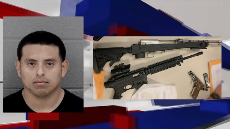 LATINO MAN ARRESTED ON GUN AND DRUG CHARGES