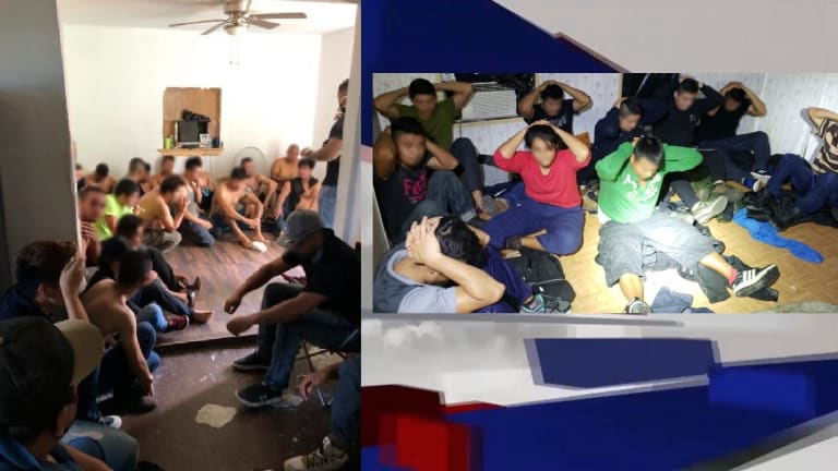 MULTIPLE ILLEGAL IMMIGRANT STASH HOUSES BUSTED IN FEDERAL INVESTIGATION