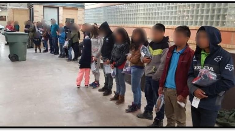 IMMIGRANT CHILDREN CONTINUE TO FLOW INTO UNITED STATES BORDER