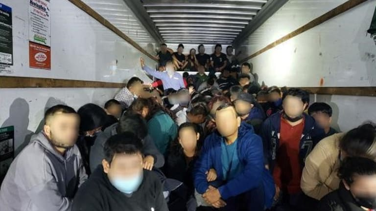 114 ILLEGAL IMMIGRANTS FOUND HIDDEN IN BOX TRUCK DURING SMUGGLING ATTEMPT