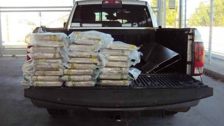 $653,000 WORTH OF COCAINE FOUND INSIDE OF TRUCK IN CALIFORNIA