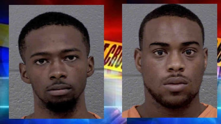 MEN CHARGED WITH MURDER OF WOMAN ON WEST SUGAR CREEK