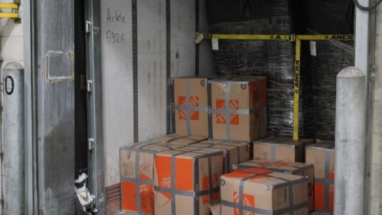 $1 MILLION WORTH OF MARIJUANA FOUND IN HOME DEPOT BOXES ON TRUCK