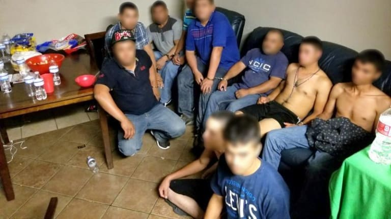 STASH HOUSE FOR UNDOCUMENTED IMMIGRANTS DISCOVERED IN TEXAS