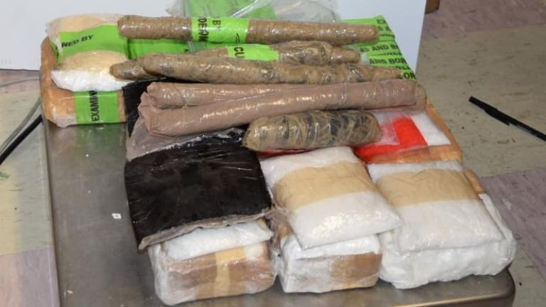 $205,000 WORTH OF HEROIN, COCAINE, AND HEROIN SEIZED