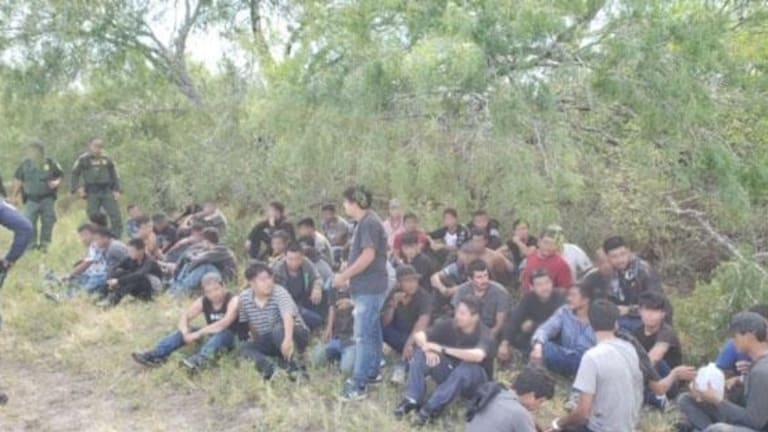 OVER 200 ILLEGAL IMMIGRANTS APPREHENDED BY U.S. BORDER PATROL IN NEW MEXICO