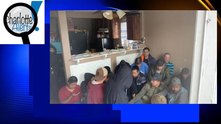 36 UNDOCUMENTED IMMIGRANTS DISCOVERED LIVING IN STASH HOUSE