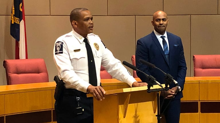 CMPD HIRES 3RD AFRICAN AMERICAN POLICE CHIEF IN A ROW
