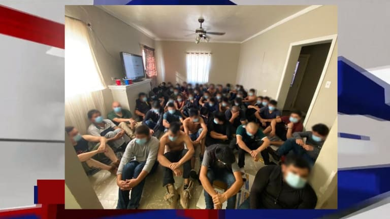 300 ILLEGAL IMMIGRANTS DISCOVERED IN STASH HOUSES