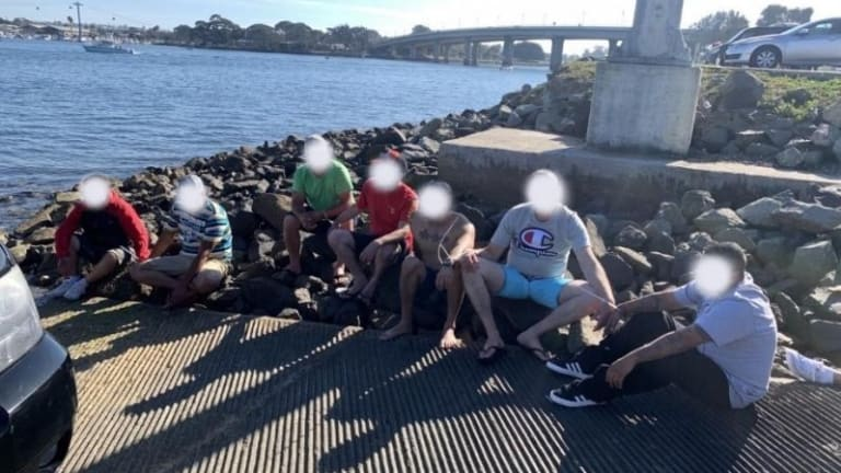 15 ARRESTED ILLEGALLY ENTERING UNITED STATES VIA BOAT