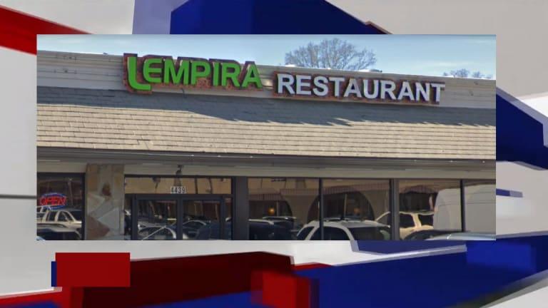 LEMPIRA RESTAURANT HAD SPOILED BEEF IN COOLER, AND HAD UTENSILS STORED ON FLOOR