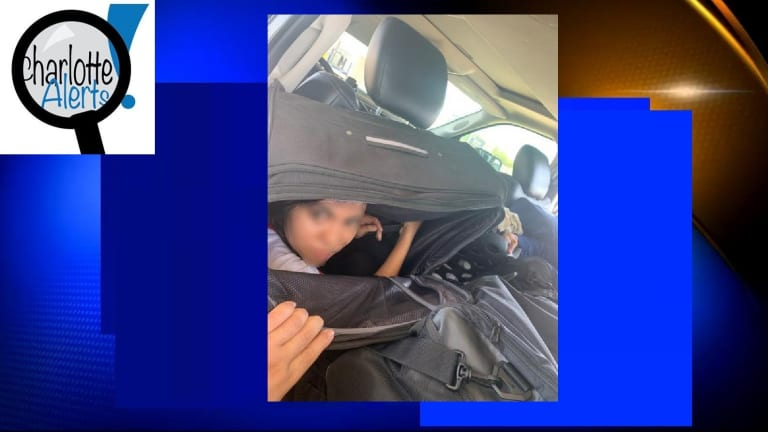 WOMAN HIDES IN SUITCASE TO TRY GETTING INTO UNITED STATES ILLEGALLY