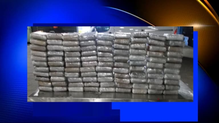 FEDS SEIZE $2.3 MILLION IN COCAINE IN TEXAS
