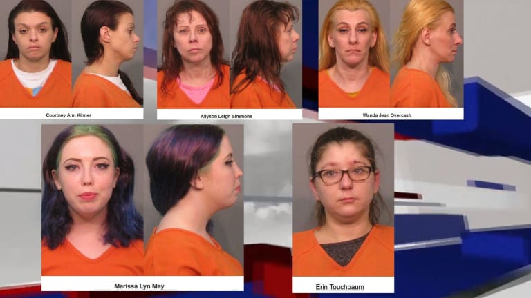 SEVERAL WOMEN ARRESTED ON PROSTITUTION CHARGES