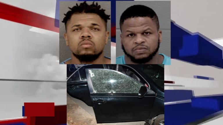 SHOOTOUT ON NATIONS FORD ROAD LEADS TO ARREST OF TWO MEN
