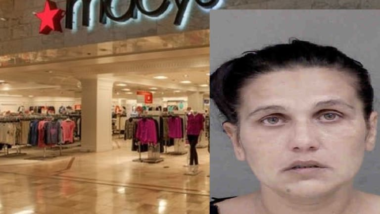 MOM USES KIDS TO STEAL FROM MACYS