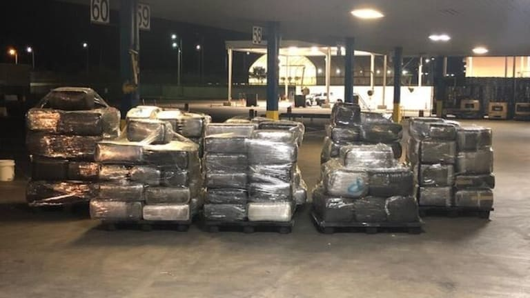 OVER $920,000 IN MARIJUANA FOUND ON COMMERCIAL SHIPMENT