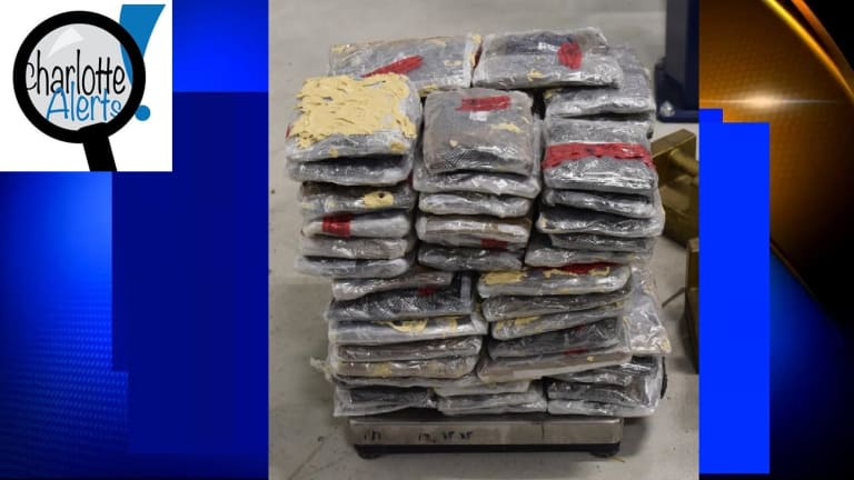 OVER $2.5 MILLION IN METH SEIZED IN VEHICLE