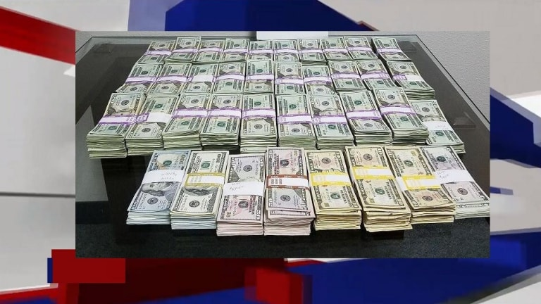 $142,000 CASH SEIZED IN MONEY SMUGGLING ATTEMPT