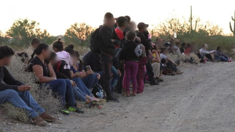 BORDER PATROL BEGIN TO RELEASE ILLEGAL IMMIGRANTS