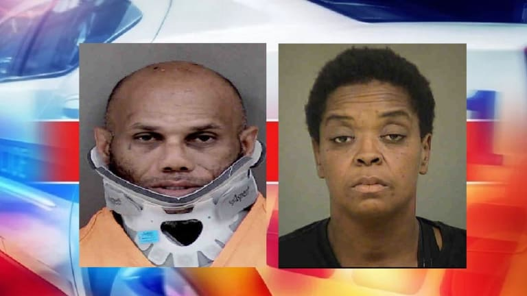 ROBBERY SPREE LEADS TO POLICE CHASE AND BAD WRECK