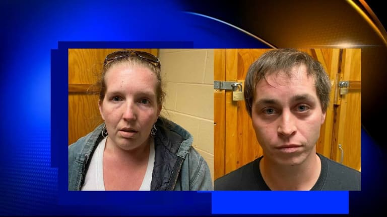 2 ADULTS ACCUSED OF SMOKING CRACK COCAINE IN CAR WHILE BABY WAS IN BACK SEAT