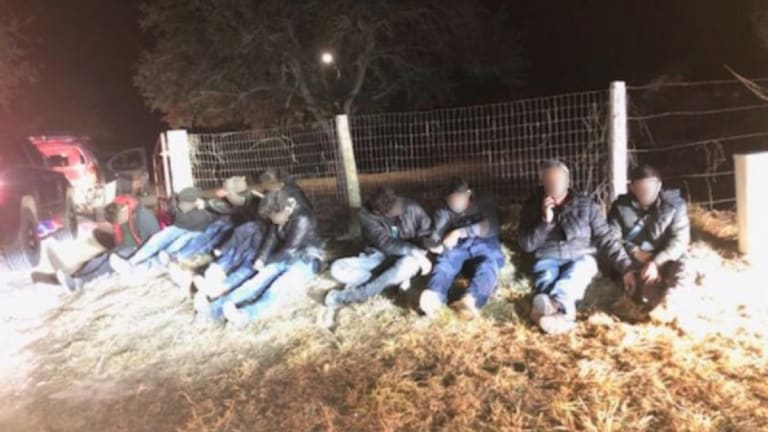 ILLEGAL IMMIGRANT HUMAN SMUGGLING ATTEMPT THWARTED