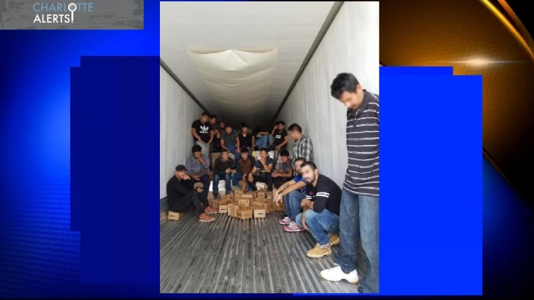 47 ILLEGAL IMMIGRANTS FOUND IN TRACTOR TRAILER ENTERING UNITED STATES