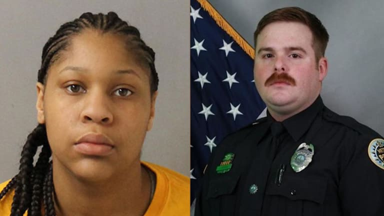TEENAGE GIRL CONVICTED OF KILLING POLICE OFFICER IN TENNESSEE