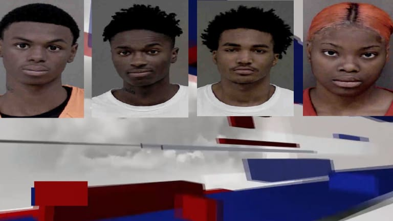 TEENS GO ON ROBBERY SERIES, THEN WRECK