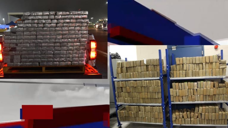 METHAMPHETAMINE WORTH OVER $60 MILLION DISCOVERED IN SMUGGLING ATTEMPT