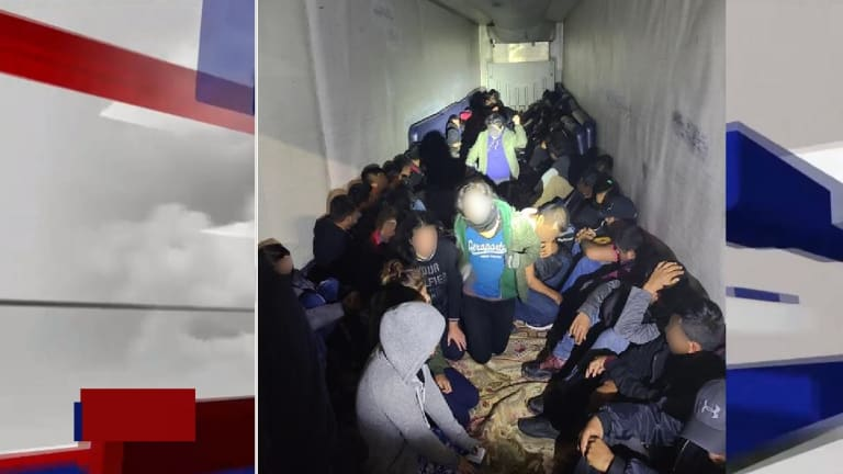 OVER 200 PEOPLE ARRESTED IN TRACTOR-TRAILERS DURING IMMIGRATION SMUGGLING