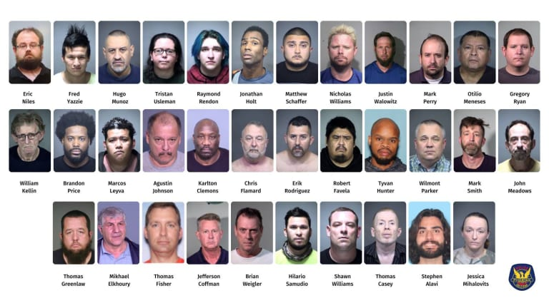 37 PEOPLE ARRESTED IN CHILD SEX TRAFFICKING UNDERCOVER STING