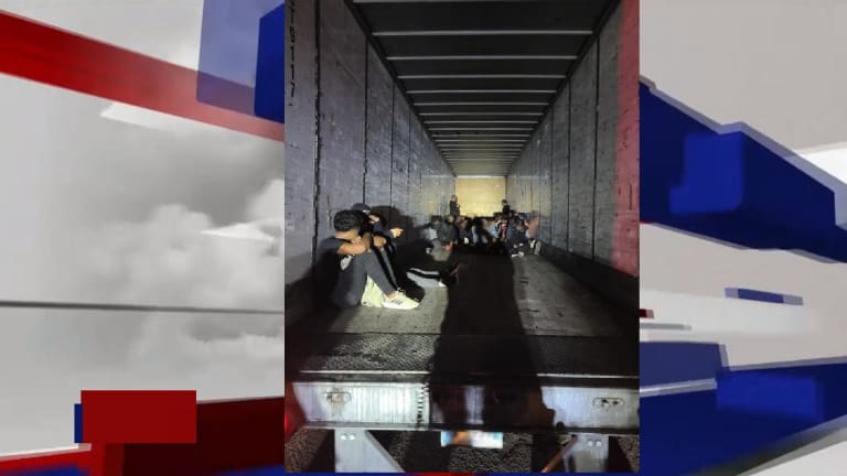 NUMEROUS LIVES SAVED DURING HUMAN SMUGGLING ATTEMPT IN 18 WHEELER TRUCK